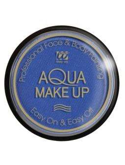 Maquillaje al Agua Azul