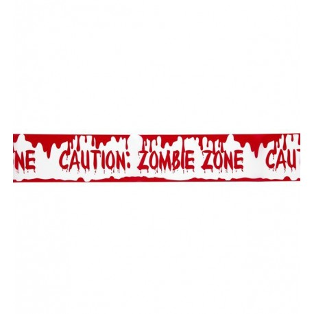 Cinta de decoracion - Zombie Zone -