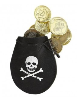 Bolsa de monedas Pirata