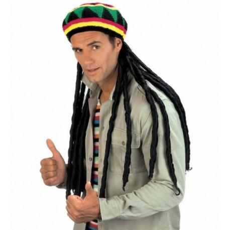 Gorro Jamaicano con Rastas