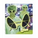 Gafas de Alien en verde