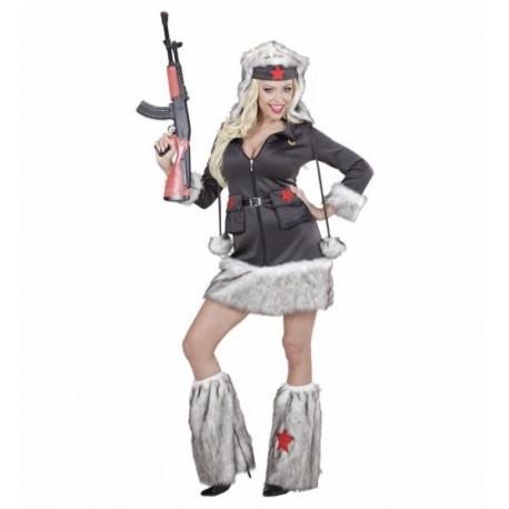 Disfraz de Mujer Soldado