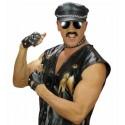 Kit Rockero, guantes colgante y pulsera