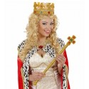 Corona de Lame y fieltro decorada