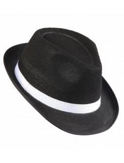 Sombrero negro de Gangster