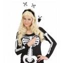 Diadema y barita de esqueletos