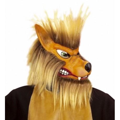 Mascara de Lobo Gruñon