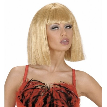 Peluca Rubia, Showgirl
