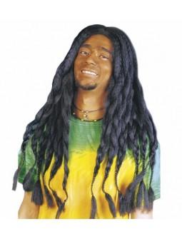 Peluca morena Rastafari