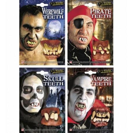Dentaduras de personajes. 4 Modelos