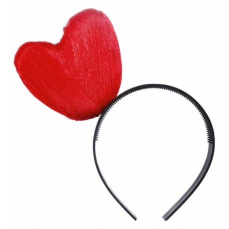 Diadema con corazon - Heart Headband -