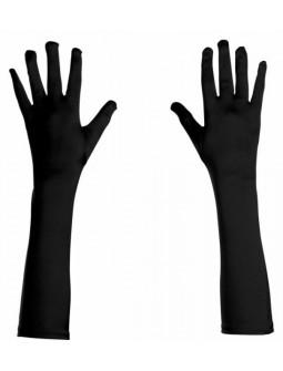 Guantes negros de Licra