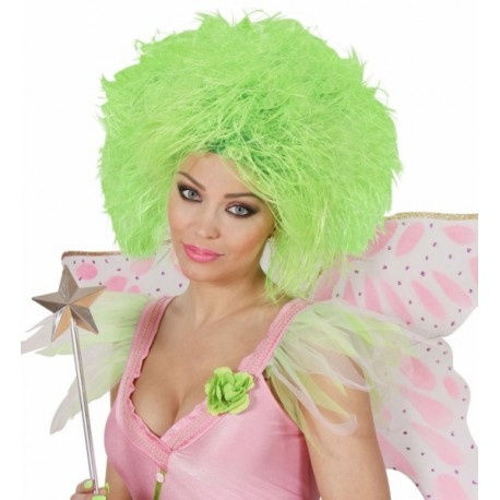 Peluca Wig en Verde