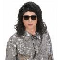 Peluca de Michael Jackson