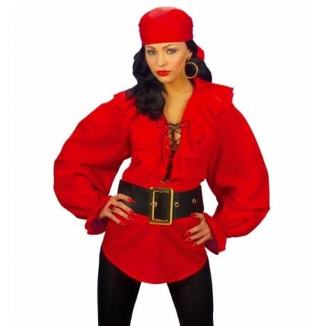 Camisa Roja Mujer