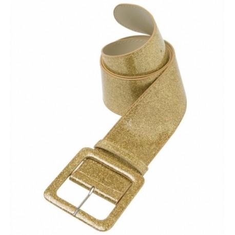 Cinturon Purpurina Oro