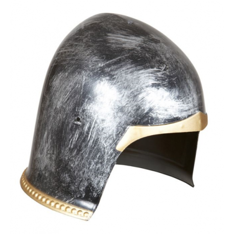 Casco medieval decorado