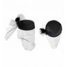 Sombrero con Rejilla y Pluma