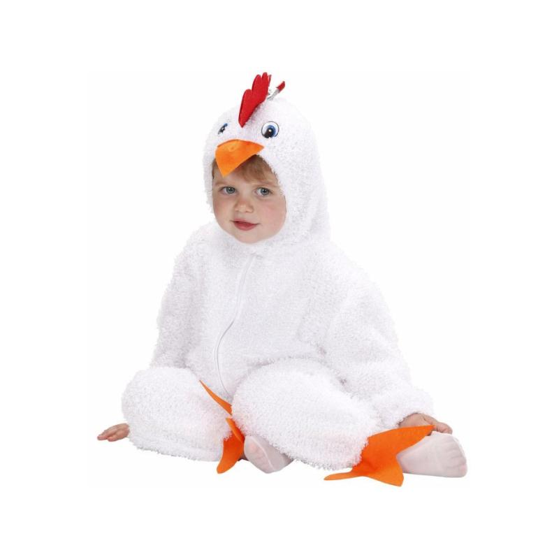 el pollito blanco