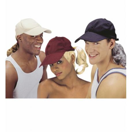 Gorra con pelo en colores