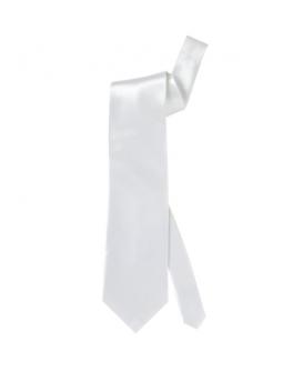Corbata Blanca de raso
