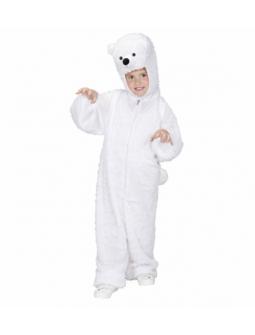 Disfraz de Oso Polar Niño