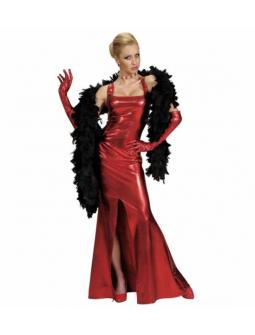 Vestido Rojo Glamour