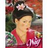 Peluca Geisha con Flor
