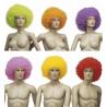Peluca Afro de colores