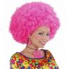 Peluca Afro Fuxia