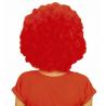 Peluca Lujo Afro Roja