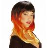 Peluca tricolor - Dos modelos
