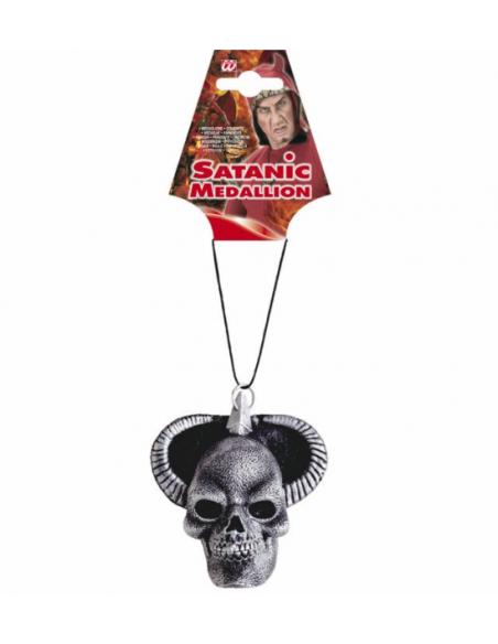 Medallon Satanico de latex