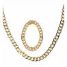 Cadena y pulsera de oro