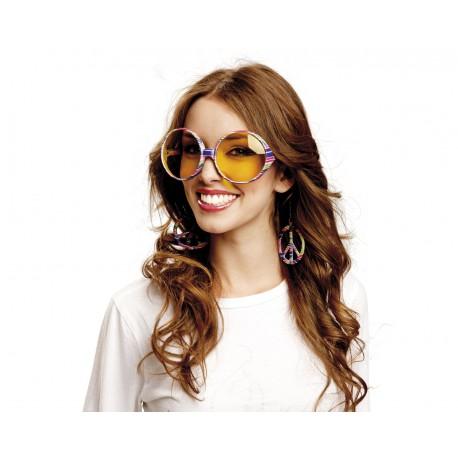 Gafas de Hippie con pendientes