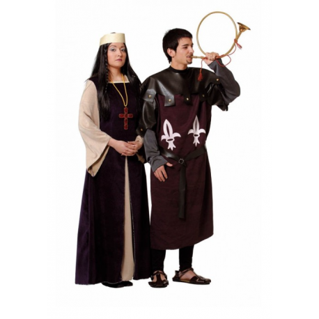 Vestido Dama Medieval