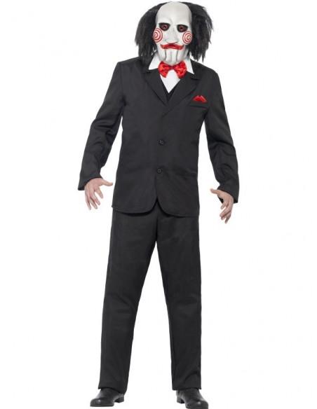 Disfraz de SAW con mascara