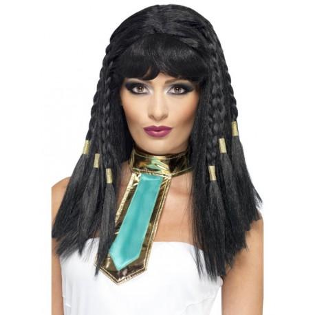 Peluca Cleopatra con Trenzas