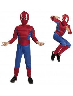 Disfraz de Spiderman con musculo