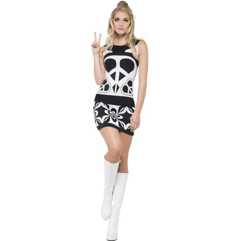 8626880cf45a Vestido Hippie años 60 para Mujer | Comprar Online