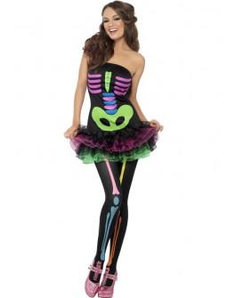 Vestido Esqueleto de colores