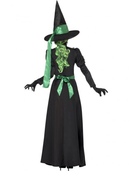 Vestido largo de Bruja