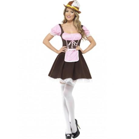 Vestido de Alemana Cervecera