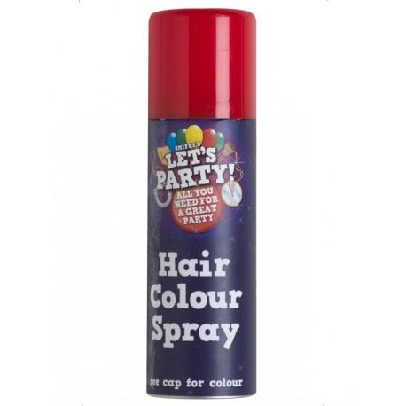 Spray para el pelo en rojo