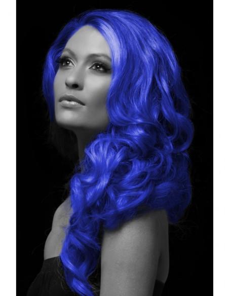 Spray para el pelo en azul