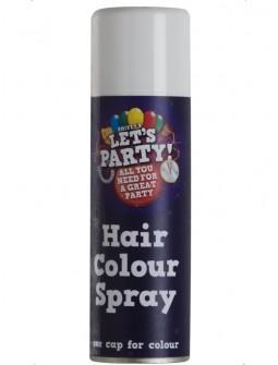 Spray para el pelo en blanco