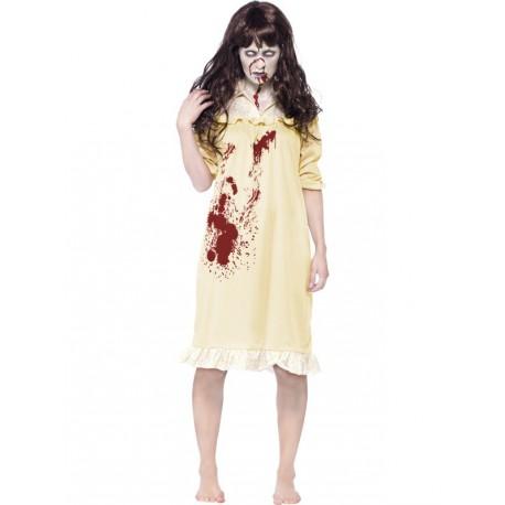 La Niña del Exorcista con peluca