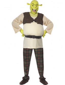 Shrek con careta de latex