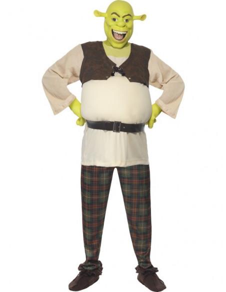 Shrek con careta de latex