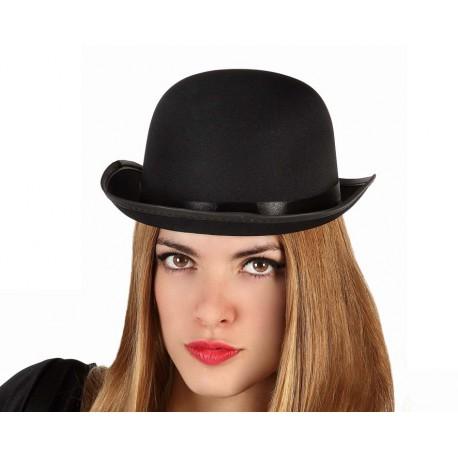 Sombrero bombin negro